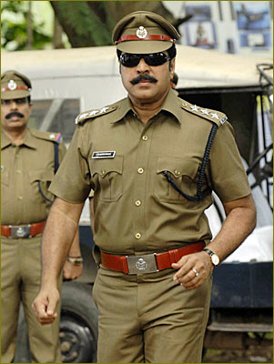 Mammootty in Roudram
